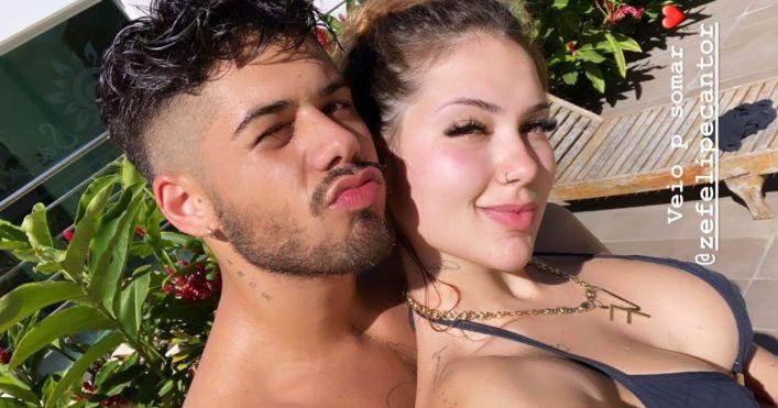 Virginia Fonseca e Zé Felipe (Foto: Reprodução)