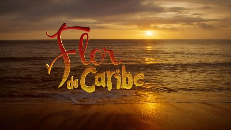 A reprise da novela Flor do Caribe (Foto: Reprodução / TV Globo)