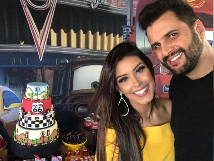 Ex-BBB Ivy Moraes e marido (Foto: Reprodução)