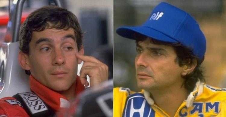 Nelson Piquet conta desavenças com Ayrton Senna e a imprensa (Foto: Reprodução)