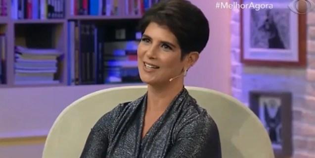 Mariana Godoy no comando do Melhor Agora; programa fica fora do ar após doença da apresentadora (Foto: Reprodução/Band)