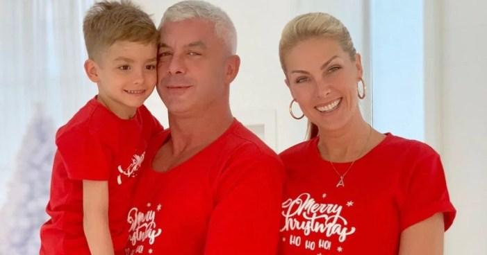 Ana Hickmann com sua família (Foto: Reprodução)