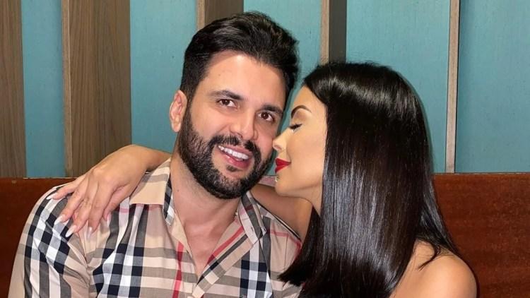 Ex-BBB Ivy Moraes e seu ex noivo, Rogério Fernandes (Foto: Reprodução)