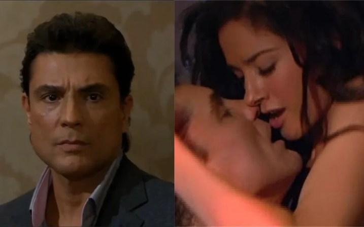 Osvaldo e Linda serão flagrados aos beijos em Triunfo do Amor (Foto: Divulgação)