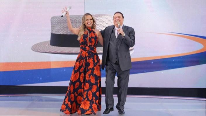 Eliana e Raul Gil (Foto: Reprodução)