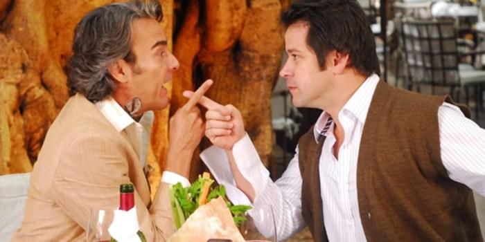 Alexandre Borges (Jacques Leclair) e Murilo Benício (Ariclenes) no remake de Tititi, próxima reprise do Vale a Pena Ver de Novo (Foto: Divulgação/Globo)