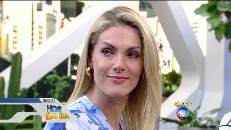 Ana Hickmann fala sobre o tratamento de câncer do marido Alexandre Corrêa (Foto: Reprodução)