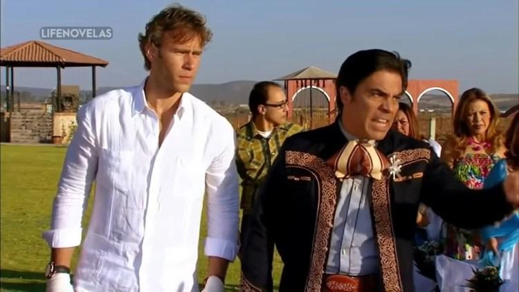 Carlos e Lazaro em Quando me Apaixono (Foto: Divulgação)