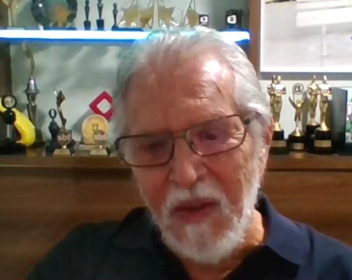 Carlos Alberto de Nóbrega perdeu uma filha há alguns anos e falou sobre o luto (Foto: Reprodução)
