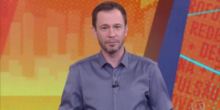 Tiago Leifert tem substituto definido para apresentar o BBB21: André Marques (Foto: Reprodução/TV Globo)