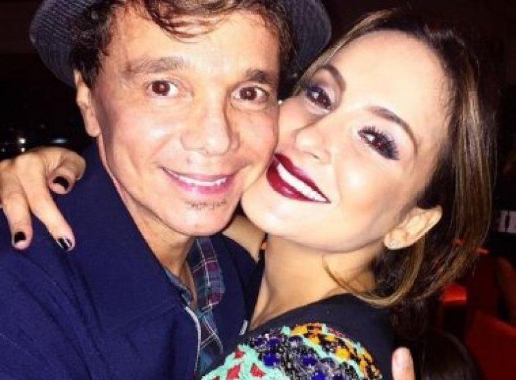 Netinho e Cláudia Leitte se apresentam em live (Foto: Reprodução)