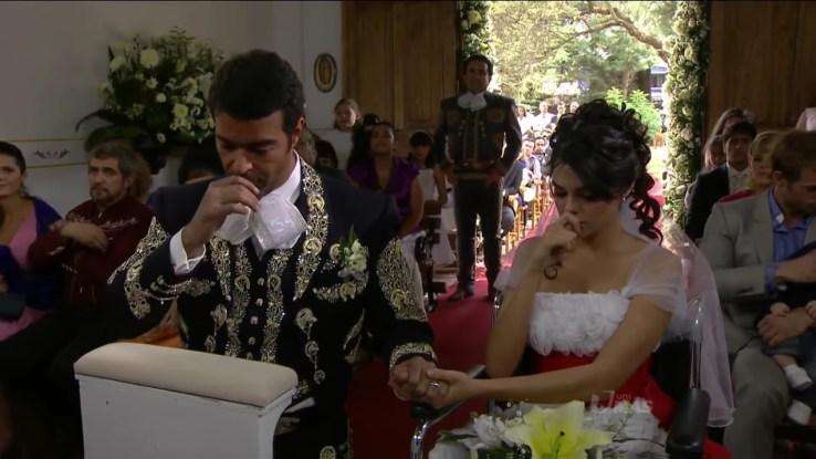Casamento em Triunfo do Amor (Foto: Reprodução)
