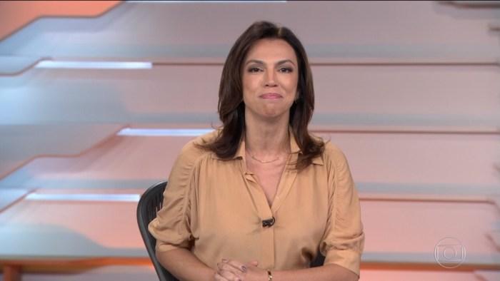 Ana Paula Araújo, apresentadora do Bom Dia Brasil (Foto: Reprodução/TV Globo)