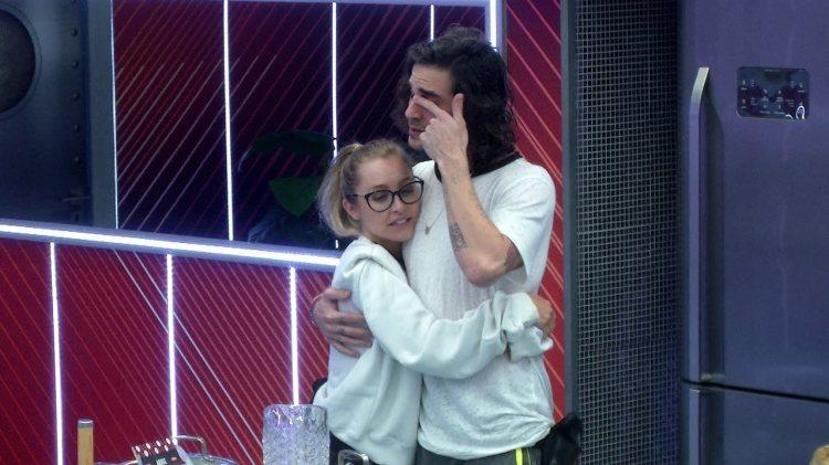 BBB21: Carla Diaz e Fiuk desistem da Prova do Líder (Foto: Reprodução)