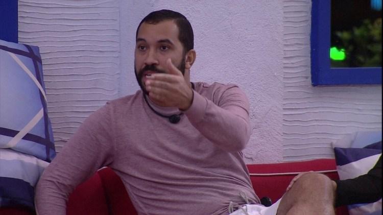 BBB21: Gilberto fala de Juliette (Foto: Reprodução)