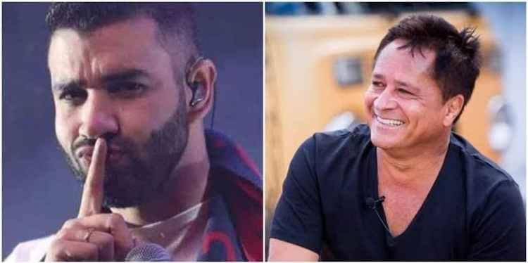 Leonardo e Gusttavo Lima protagonizaram uma live e deram o que falar (Foto: Reprodução)