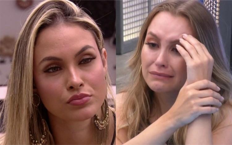 BBB21: Sarah fala mal de Carla Diaz no reality global (Foto: Reprodução)