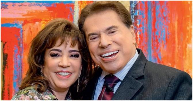Silvio Santos é casado com Íris Abravanel (Foto: Reprodução)