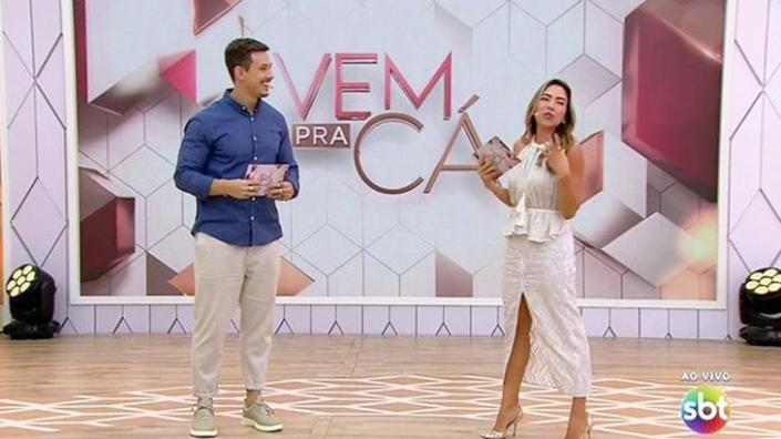 Vem Pra Cá, novo matinal do SBT (Foto: Reprodução)