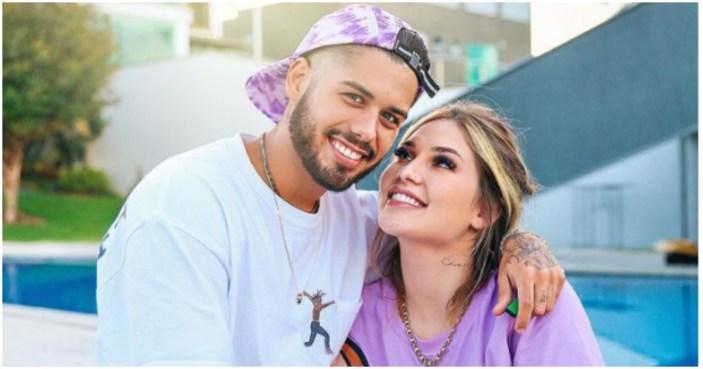 Zé Felipe e Virgínia foram acusados de protagonizarem uma gravidez arranjada (Foto: Reprodução)