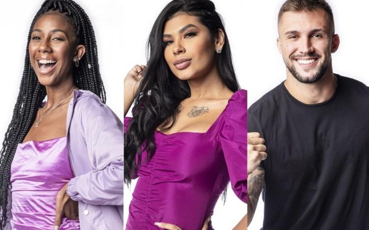 Enquete BBB21: Camilla, Pocah e Arthur estão no paredão. Quem sai? Vote e veja o resultado!