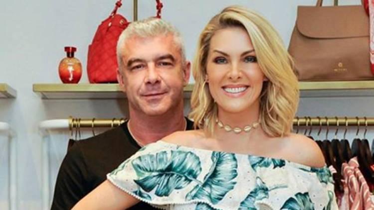 Ana Hickmann e seu marido (Foto: Reprodução)