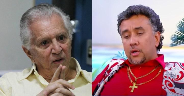 Carlos Alberto de Nóbrega foi exposto por Paulinho Gogó na Globo (Foto: Reprodução)