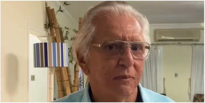 Carlos Alberto de Nóbrega usou as redes sociais para anunciar sua volta ao SBT (Foto: Reprodução)