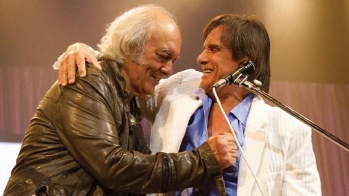 Erasmo Carlos e Roberto perderam o amigo Lafayette Coelho (Foto: Reprodução)