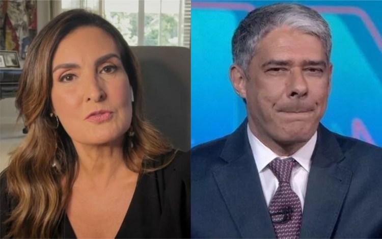 Fátima Bernardes fala sobre término com William Bonner em entrevista para Bial (Foto: Reprodução)