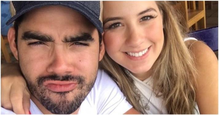 Gabriel Diniz ao lado da noiva, Karoline Calheiros (Foto: Reprodução)