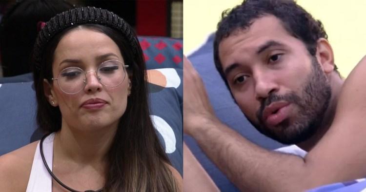 Gilberto disse que não puxaria mutirão para Juliette e exalta Fiuk (Foto: Reprodução)