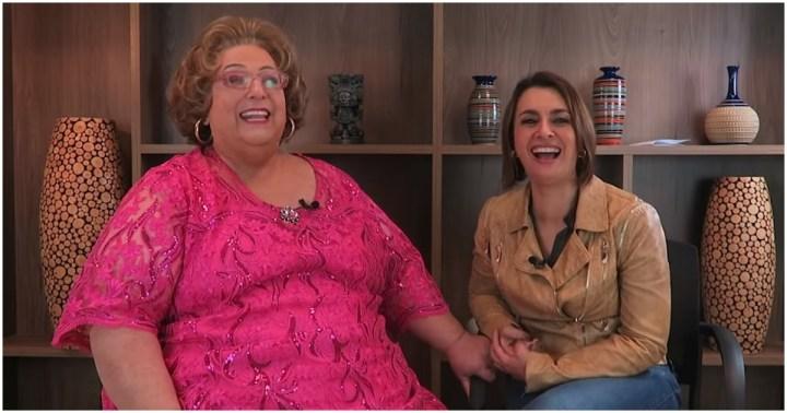 Catia Fonseca contou que já brigou com Mamma Bruschetta no passado (Foto: Reprodução)