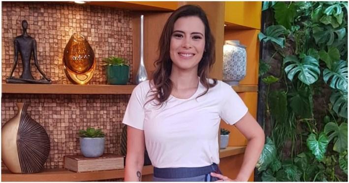 Michelle Loreto comete erro ao vivo, troca nome de Paulo Gustavo
