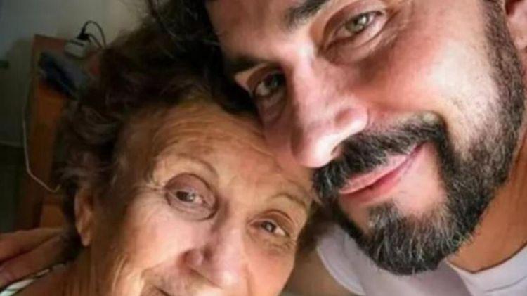 Padre Fábio de Melo e sua mãe, que não resistiu às complicações da Covid-19 (Foto: Reprodução)