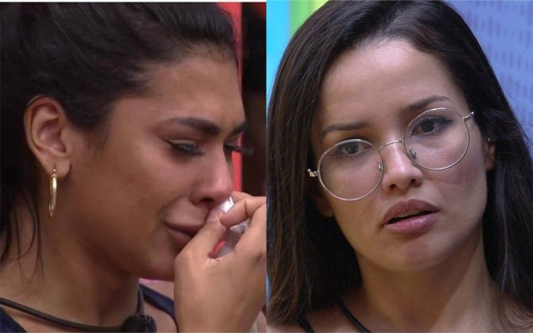 BBB21: Pocah pensa em desistir após desentendimento com Juliette (Foto: Reprodução)