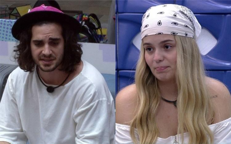 BBB21: Fiuk e Gil fazem promessa e Juliette corre para contar a Viih Tube (Foto: Reprodução)