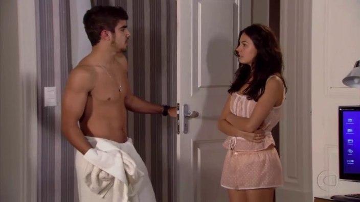 Marcela e Edgar (Foto: Reprodução)
