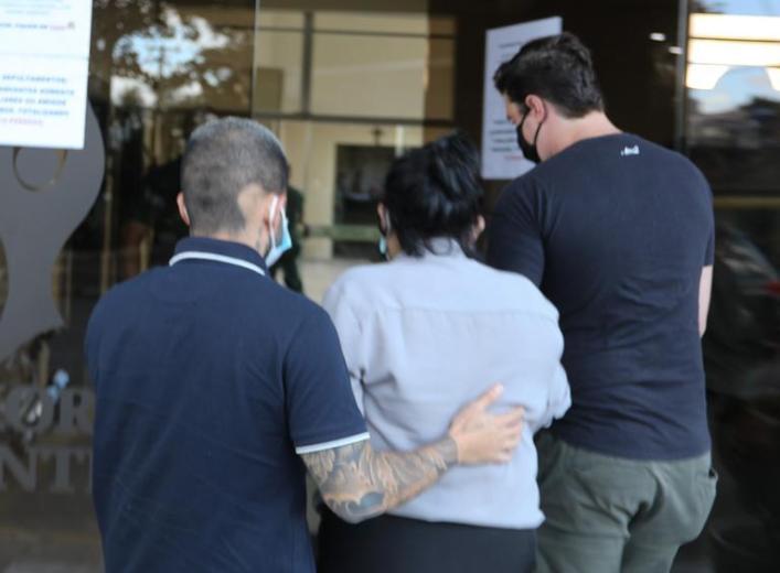 Yudi e os parentes (Fotos: Claudio Vitor Vaz/Francisco Cepeda/AgNews)