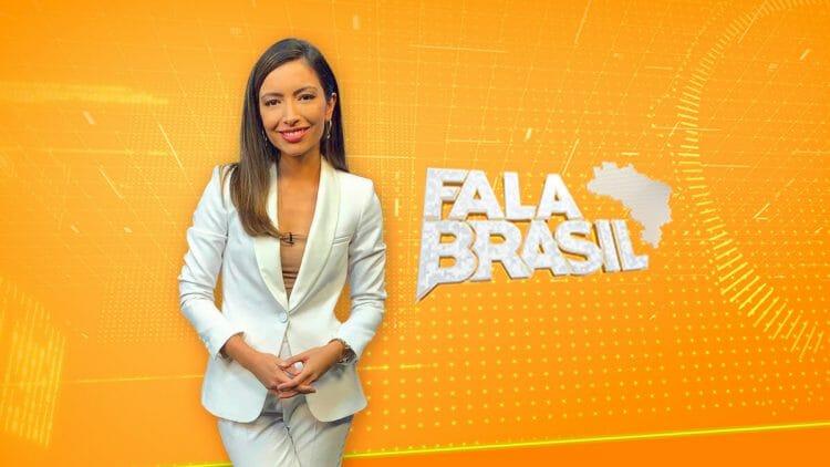 Paloma Poeta estreia no Fala Brasil, da Record (Foto: Reprodução)