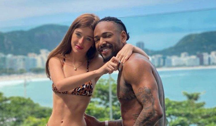 Duda Reis e seu ex, Nego do Borel (Foto: Reprodução)