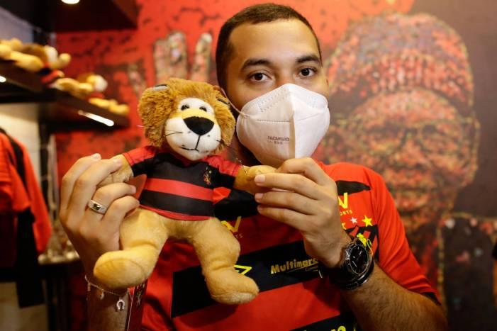 Gilberto no Sport (Foto: Reprodução)