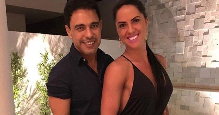 Zezé e Graciele (Foto: Reprodução)