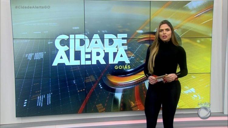 Silvye Alves, apresentadora da Record sofre agressão de ex-namorado (Foto: Reprodução)