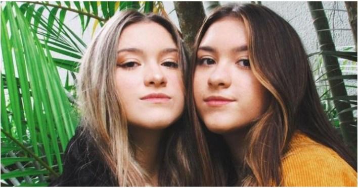 Filhas de Gugu Liberato, Sofia e Marina, exibem nas redes sociais banheiro de luxo (Foto: Reprodução)