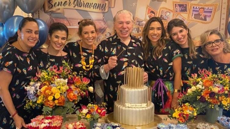 SBT Silvio Santos e filhas