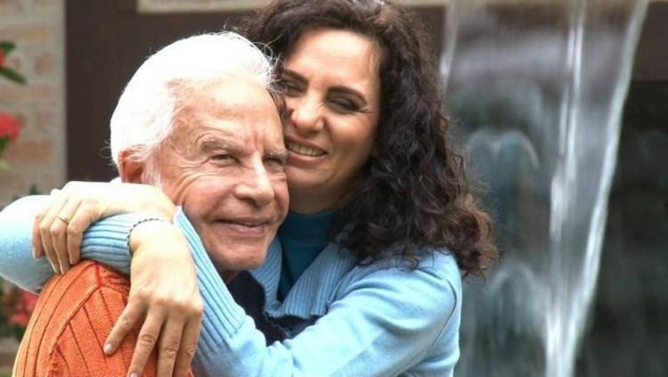 Cid Moreira e Fátima Moreira (Foto: Reprodução)