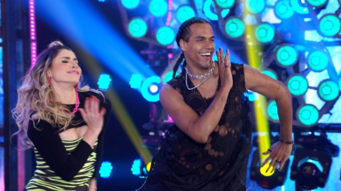 Marcello Melo Jr foi um dos destaques do Super Dança dos Famosos (Foto: Reprodução)