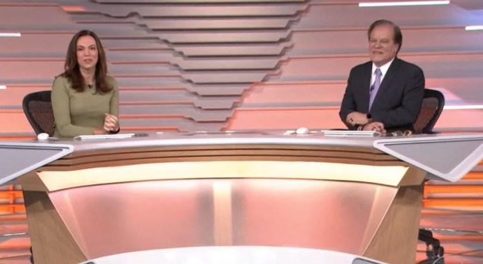 Chico Pinheiro e Ana Paula Araújo estão em pé de guerra na Globo (Foto: Reprodução)