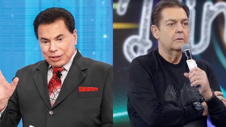 Silvio Santos e Faustão